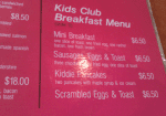 child friendly cafe Brisbane