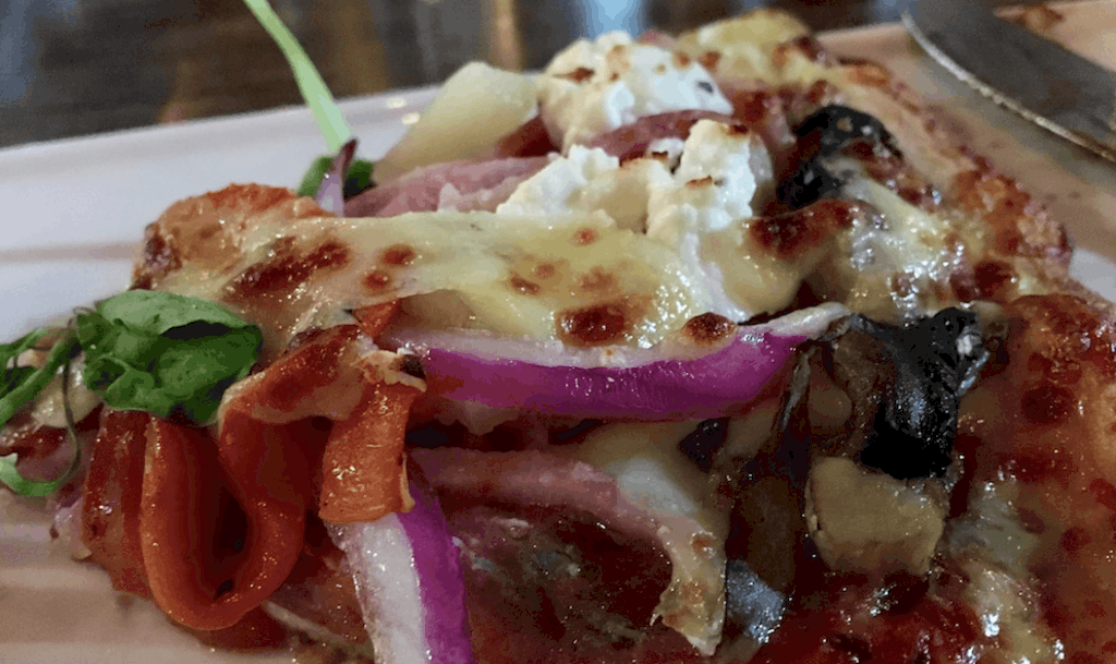 Close-up of Pizza Nonna's Harbourtown