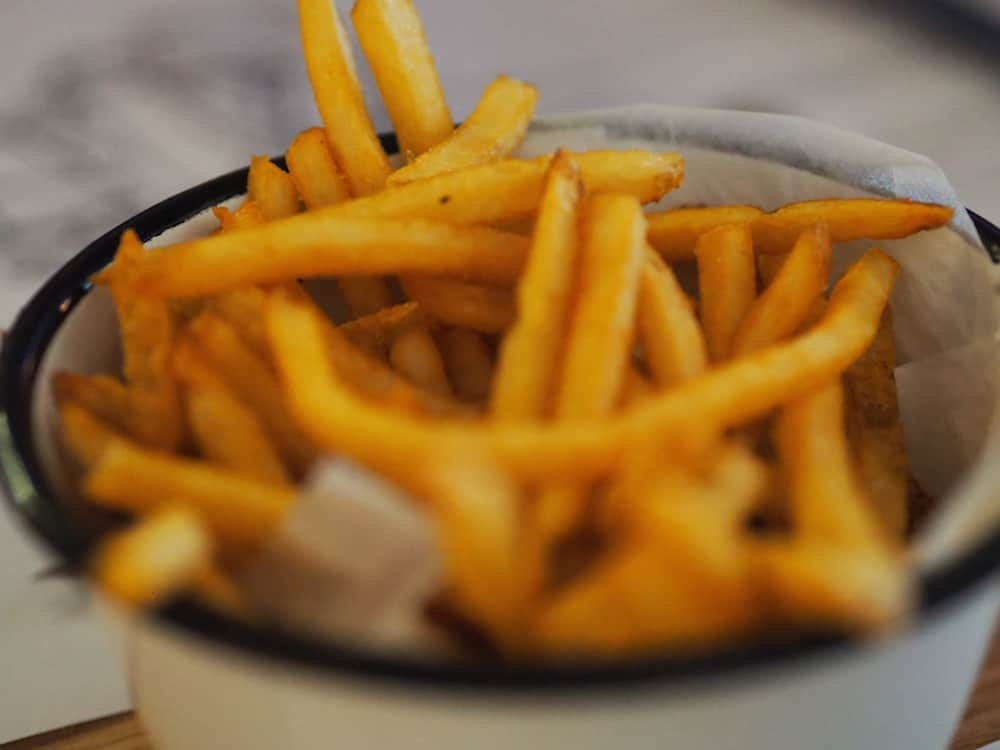 Fries at Harry's Steak Bistro and Bar - Burleigh Heads