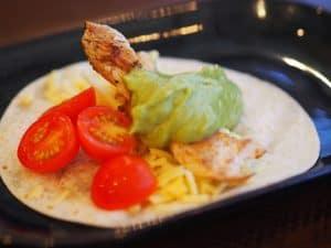 Child's chicken meal at La Barrita