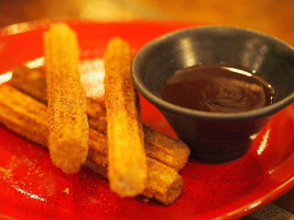 Churros at La Barrita