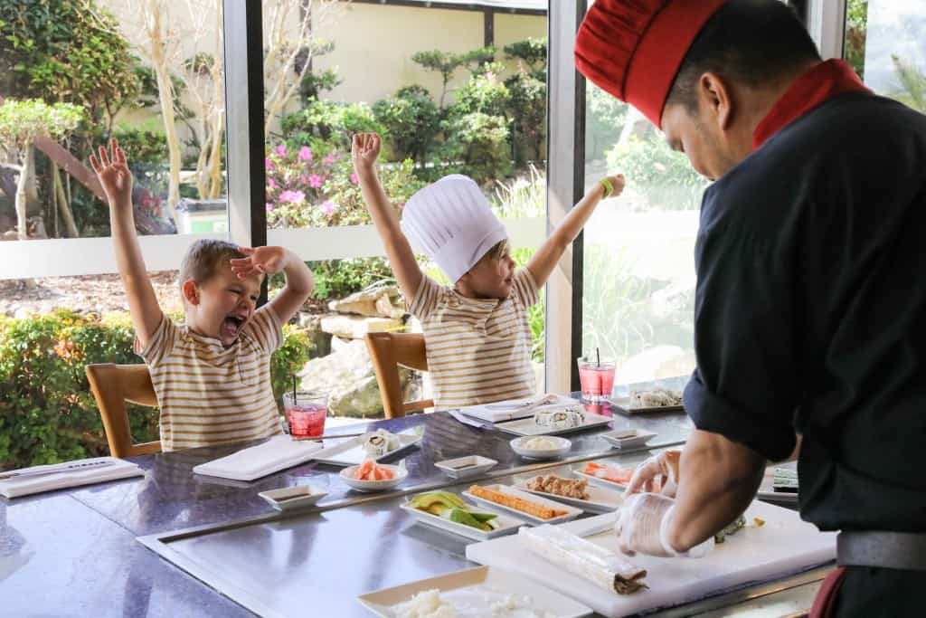 Kids Eat Free - Misono Japanese Steakhouse