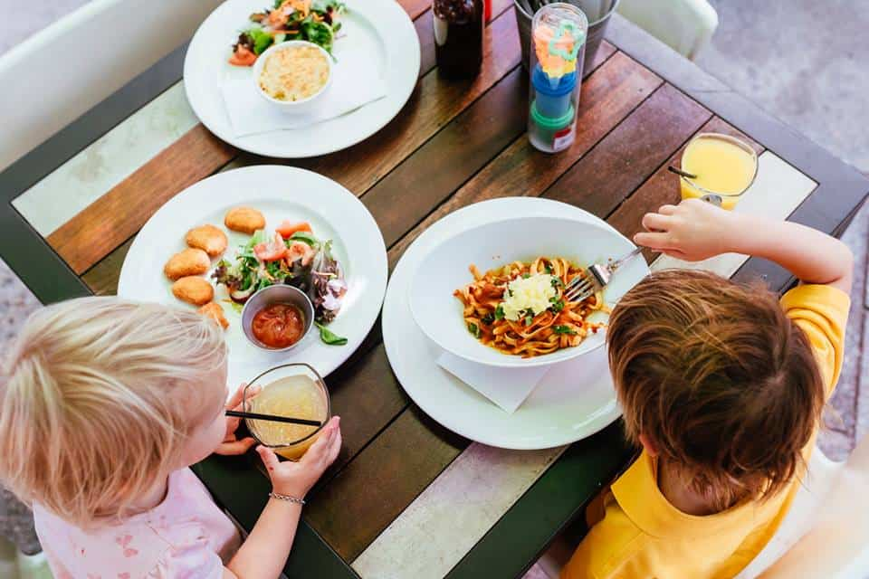 Kids eat free in perth