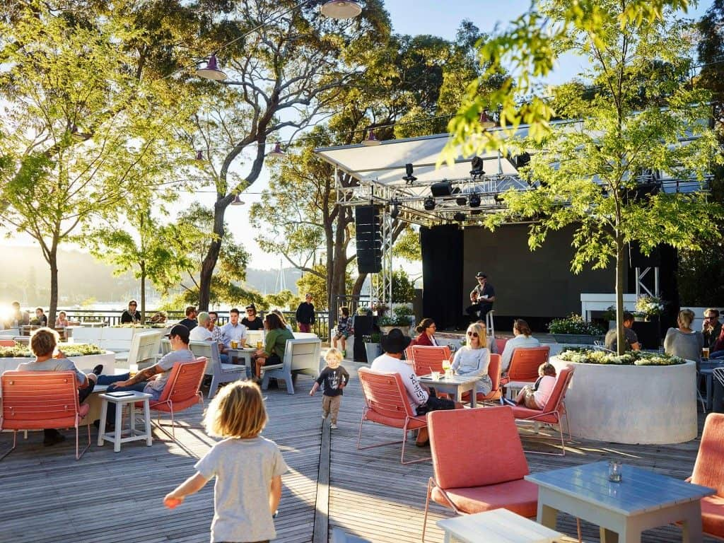 kid friendly pubs in Sydney - The Newport on Pittwater