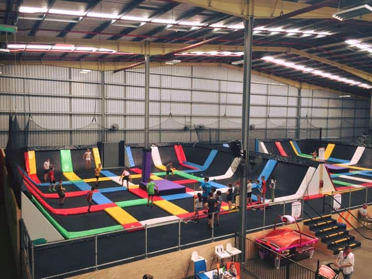 best trampoline parks in Brisbane