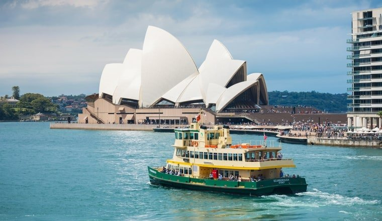 School hohliday activities Sydney Ferries
