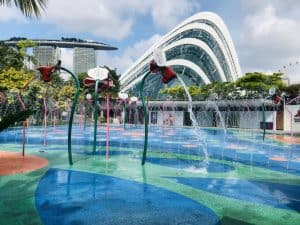 Water Play - Gardens by the Bay