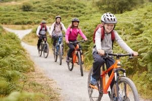 How To Enjoy Nature on Biking Trails with Your Kids
