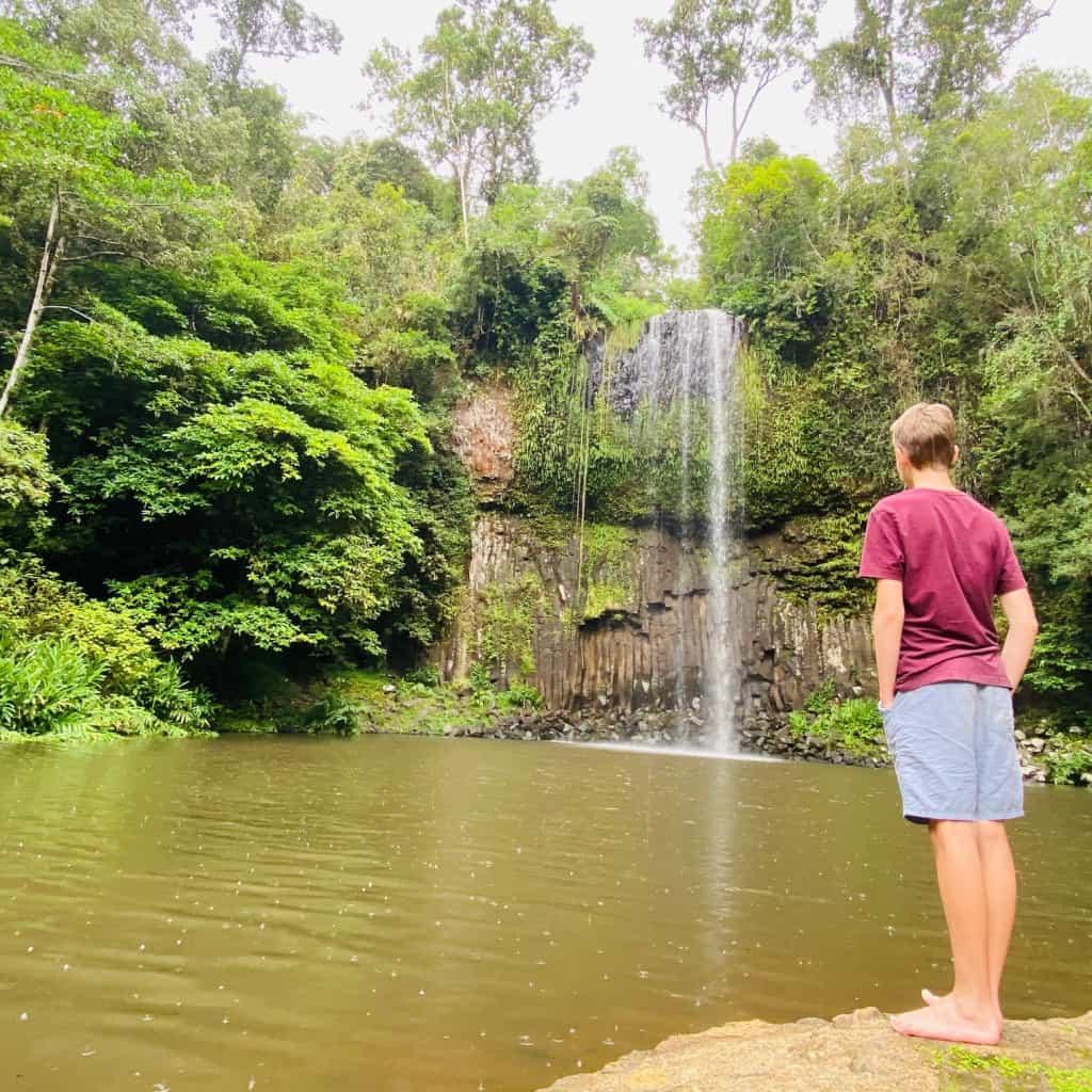 Milla Milla Waterfalls near Cairns