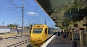 Brisbane to Bundaberg Tilt Train