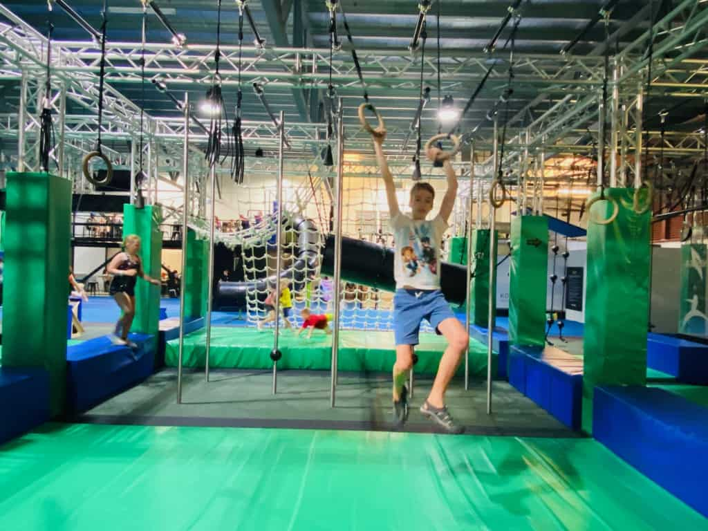 Ninja Parcin Townsville is perfect for kids