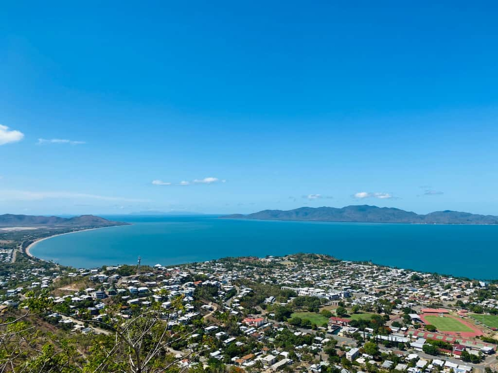 View from Castle Hill to Magnetic Island