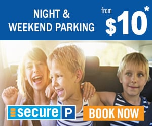 Secure Parking $9 Night and Weekend